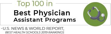 Top 100 in Best Physician Assistant Programs - U.S. News & World Report, Best Health Schools 2019 Rankings
